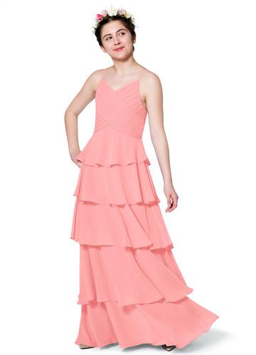 Azazie Daniela Junior Bridesmaid Dress