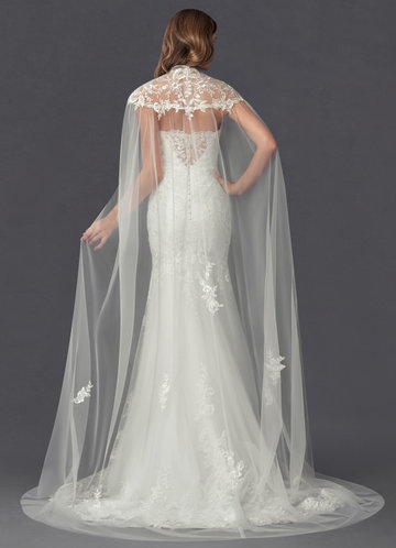 back_Azazie Guadalupe Lace Tulle Wrap
