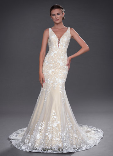 Azazie Corella Wedding Dress