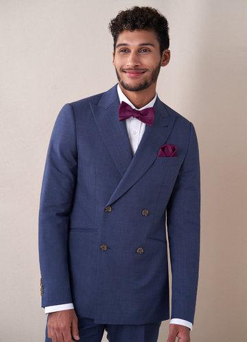 front_Gentlemen's Collection Matte Satin Bow Tie