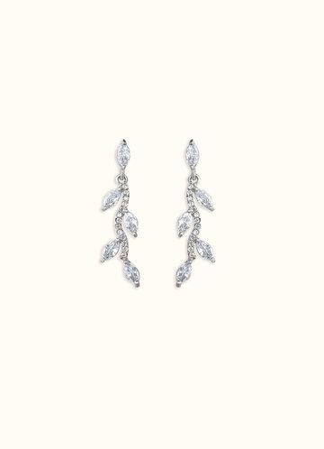 back_Bridal Vine Earrings
