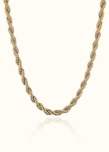 back_Together Forever Rope Necklace