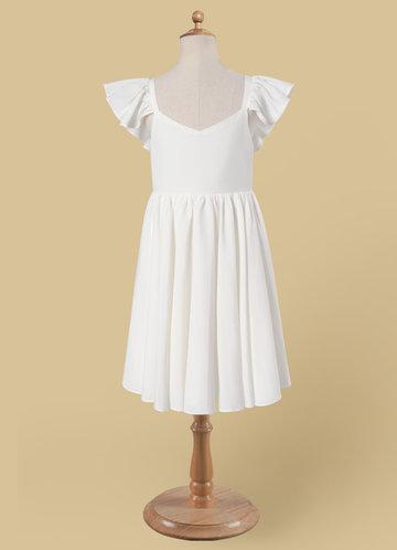 front_Azazie Roza Flower Girl Dress