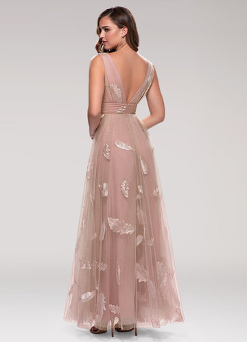 back_Blush Mark Lost In Paradise {Color} Embroidery Maxi Dress
