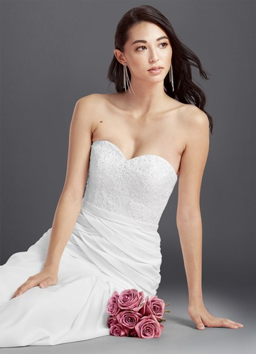 Azazie Bernadette Wedding Dress