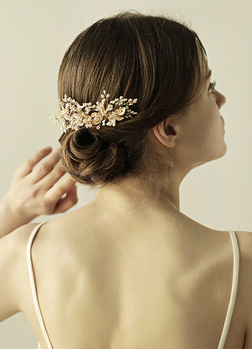 back_Gilded Flower Hour Comb