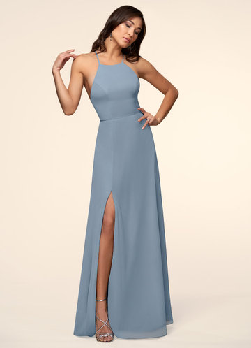 Sweet Darling Dusty Blue Maxi Dress