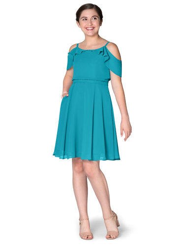 Azazie Beckette Junior Bridesmaid Dress