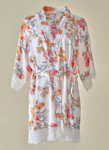 front_Floral Robe