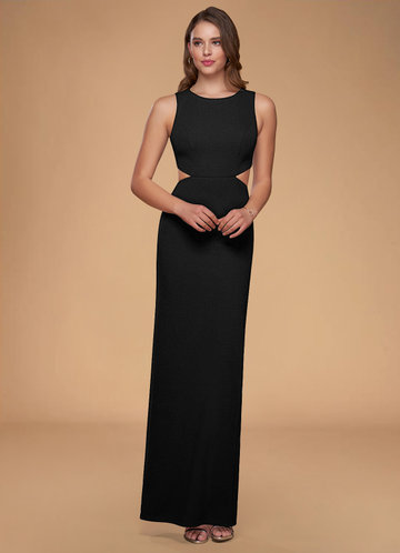 Now And Forever Black Maxi Dress