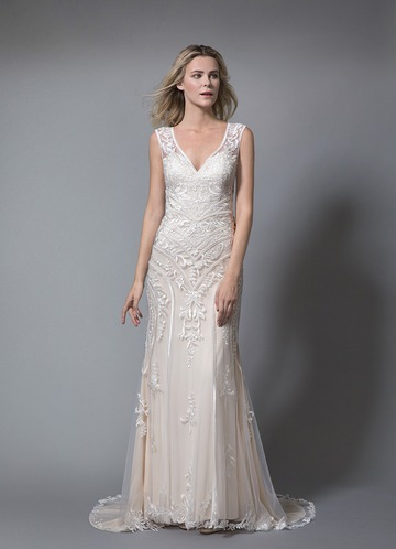 Azazie Rose Wedding Dress