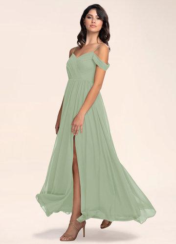 Philosophy Of Love Dusty Sage Maxi Dress