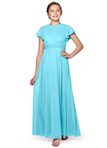 Azazie Mosley Junior Bridesmaid Dress