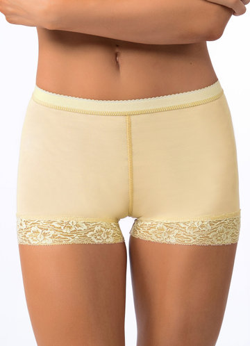 front_Padded Butt Lifter Lace Boyshort Booty Shaper