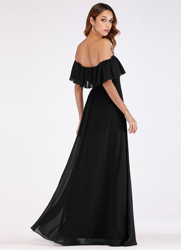 back_EVER-PRETTY Ruffle Off Shoulder Split Prom Dress