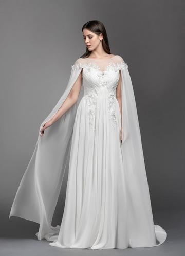 Azazie Linnea Wedding Dress