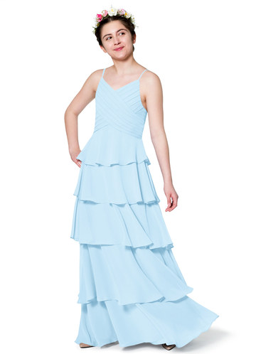 Azazie Daniela Junior Bridesmaid Dress