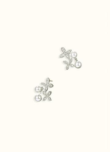 front_Daisy Pearl Earrings
