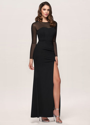 Perfect Kiss Black Maxi Dress
