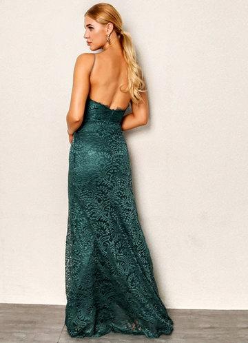 back_Joyfunear High Split Open Back Bodice Lace Overlay Dress