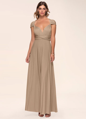 Dream Of Forever Taupe Maxi Dress