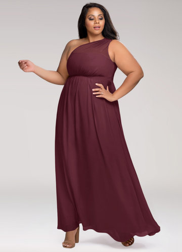front_Blush Mark Plus Size Magical Day  Maxi Dress