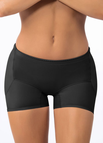 front_Side Hip Enhancer Firm Control Seamless Padded Shapewear