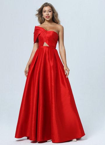 front_AZ Rebellious Rose Prom Dress