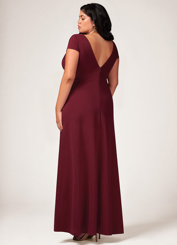 back_Blush Mark Plus Size Perfect Timing Maxi Dress