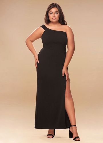 Iconic Black Maxi Dress