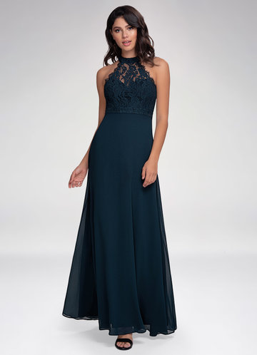 Fashionista Dark Navy Maxi Dress