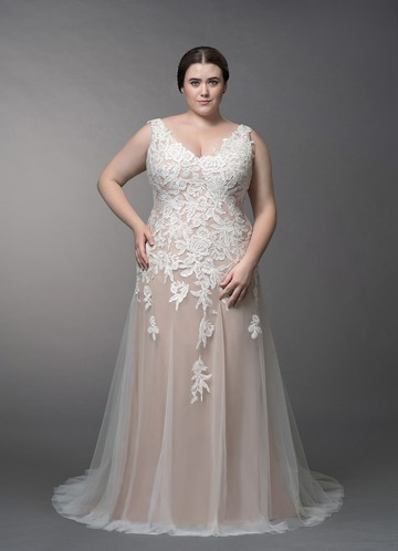 Azazie Bess Wedding Dress