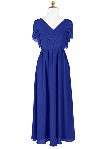 Azazie Zella Junior Bridesmaid Dress