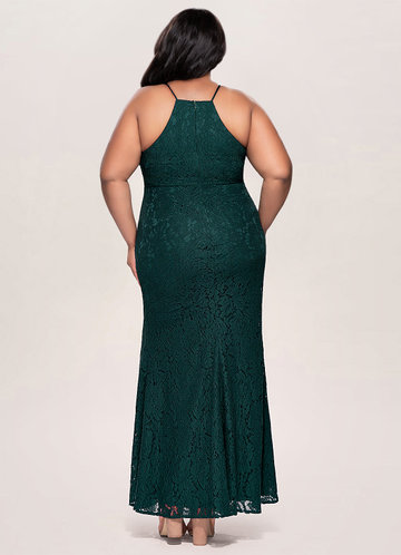 back_Blush Mark Plus Size Mademoiselle Lace Maxi Dress