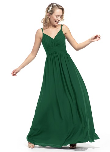 Dark Green Bridesmaid Dresses Azazie