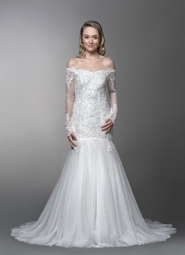 Azazie Araminta Wedding Dress