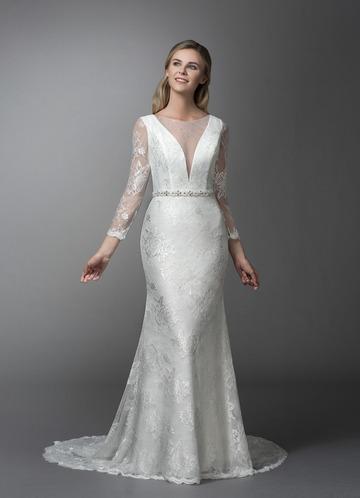 Azazie Lenore Wedding Dress