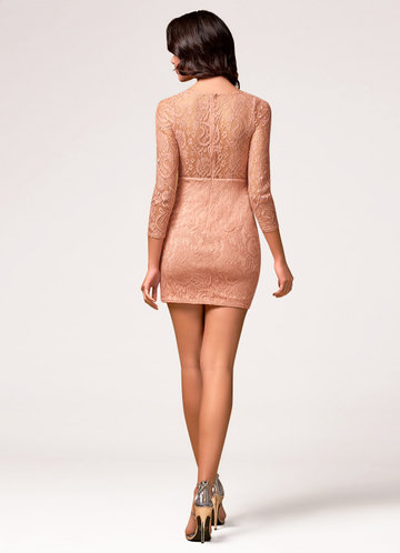 back_Blush Mark Perfect Day {Color} Mini Dress