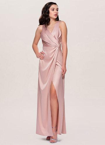Candlelight Blush Maxi Dress
