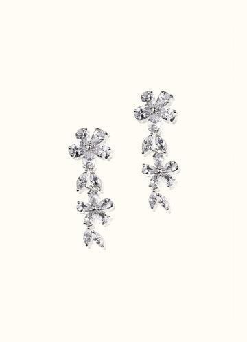 back_Enchanted Floral Drop Earrings