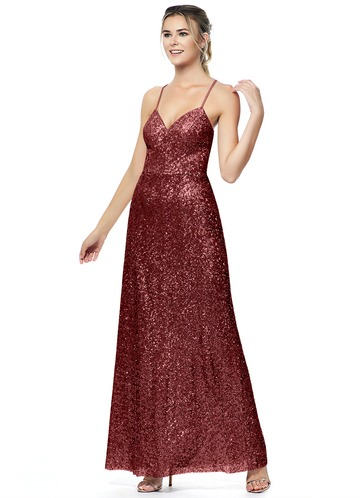 Azazie Wren Bridesmaid Dress