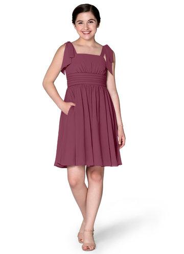Azazie Jordanna Junior Bridesmaid Dress