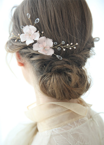 Calypso Floral Comb