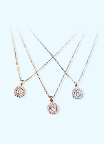 back_Classic Pendant Jewelry Set