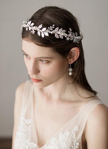 front_Laurel leaf headband