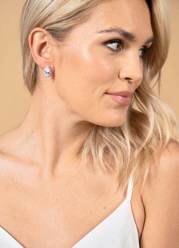 back_Teardrop Stud Earrings