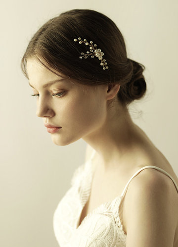 front_Freshwater Pearl and Floral Headpieces