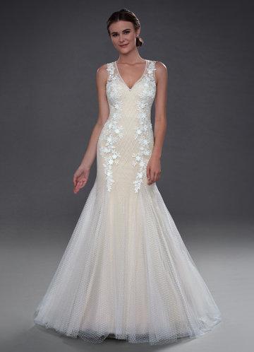 Azazie Gemini Wedding Dress