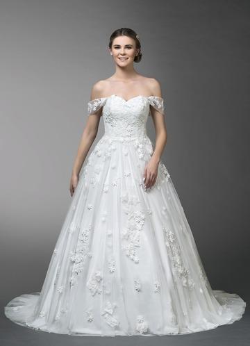 Azazie Sakura Wedding Dress