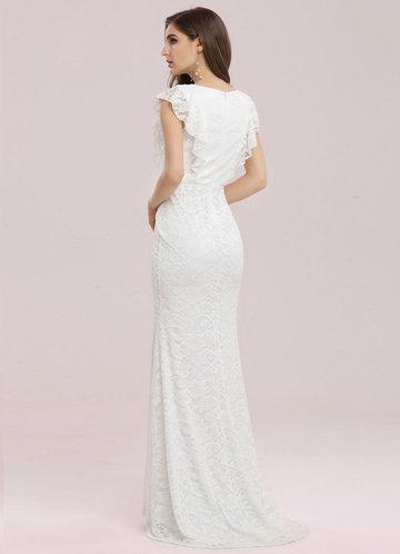 back_Ever Pretty Elegant Maxi Fishtail Lace Dress